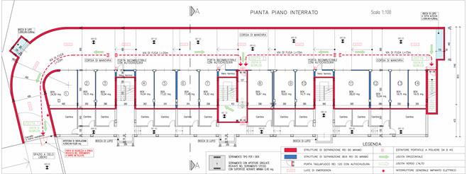 Autorimessa interrata - Strada della Chioma n° 50 - Comune di GIAVENO