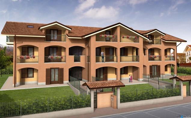 Costruzione edificio plurifamiliare per n° 7 alloggi e n° 7 box auto a n° 2 piani fuori terra e sottotetto