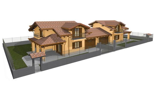 Costruzione edificio bifamiliare a n° 1 piano fuori terra e sottotetto