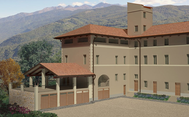 Risanamento conservativo fabbricato residenziale e recupero di rustico a fini abitativi